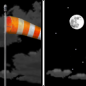 Tonight: Partly cloudy, with a low around 24. Breezy, with a west southwest wind 15 to 20 mph becoming southwest 5 to 10 mph after midnight. Winds could gust as high as 30 mph.