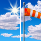 Today: Mostly sunny, with a high near 40. Breezy, with a southwest wind 15 to 20 mph, with gusts as high as 30 mph.