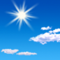 Today: Sunny, with a high near 16. Calm wind.