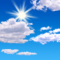 Saturday: Mostly sunny, with a high near 12. Calm wind.