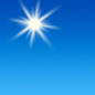 Today: Sunny, with a high near 69. Calm wind becoming southwest 5 to 8 mph in the afternoon.